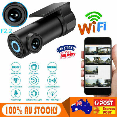 AU40.94 • Buy 1080P Mini Car DVR Camera Dash Cam WIFI G-sensor Video Recorder Night Vision AUS