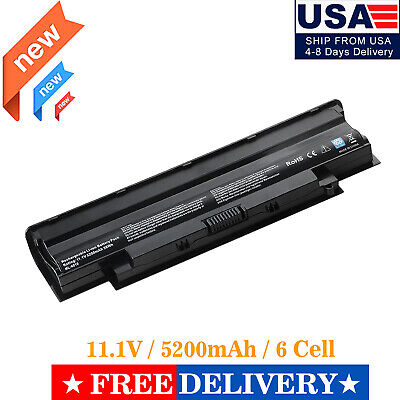 $12.98 • Buy New 04YRJH YXVK Battery For Dell Vostro 1440 1450 1540 1550 3450 3550 3555 3750