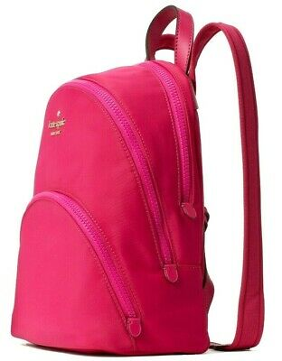 $ CDN133.96 • Buy Kate Spade Karissa Magenta Nylon Medium Backpack Pink WKRU6586 NWT $279 MSRP FS