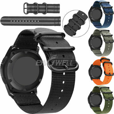 AU12.99 • Buy 20mm Universal Quick Release Nylon Wrist Watch Band Replacement Sports Strap AU