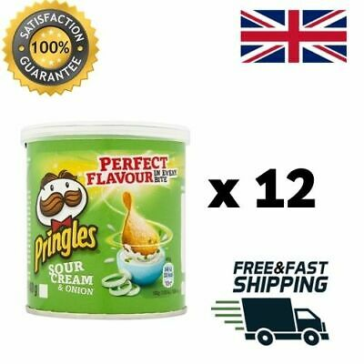 Pringles Crisps All Flavours 40g X 12 Tubs • 11.49£