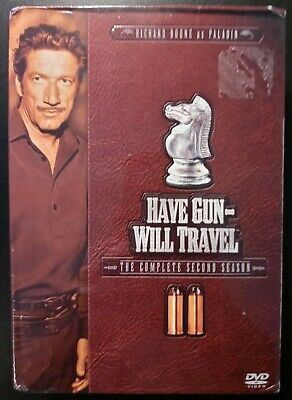 $12.59 • Buy Brand New Have Gun Will Travel The Complete Second Season(DVD, 2005, 6-Disc Set)