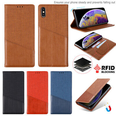 AU10.99 • Buy For OPPO A3S A59 A32 Realme 6 C11 C17 Magnetic Ultra-Thin Flip Phone Case Cover