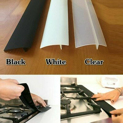 £6.59 • Buy Silicone Stove Counter Gap Cover For Cooker Worktop Spill Guard Seal Filler 2pcs