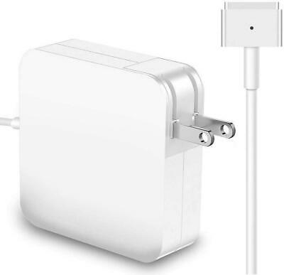 $14.97 • Buy 60W T-Tip MagSafe2 Power Adapter For Apple MacBook Pro 13  A1435 A1465 A1502