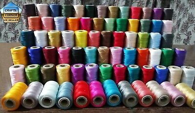 £23.89 • Buy 75 Spools Of Machine Silk Embroidery Threads For BROTHER ,JANOME And Many More