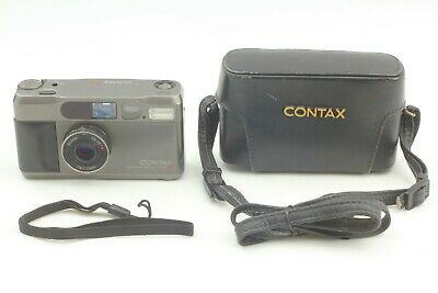 $ CDN1323.77 • Buy 【Near Mint W/ Strap Case】 CONTAX T2 Titan Black Point & Shoot Camera From JAPAN