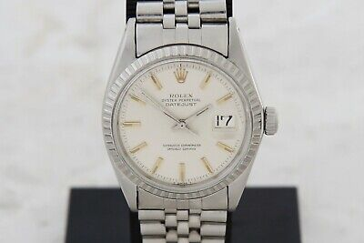 $ CDN4884.50 • Buy Vintage ROLEX Oyster Perpetual Datejust Automatic Cal.1570 Steel 36mm Ref: 1601