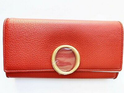 AU129.99 • Buy Brand New Authentic OROTON Endeavor Slim Clutch Red RRP$295
