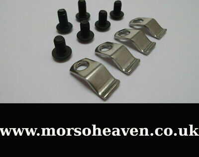 £8.75 • Buy Genuine Morso Squirrel Glass Clips And Screws. First Class Postage Included.
