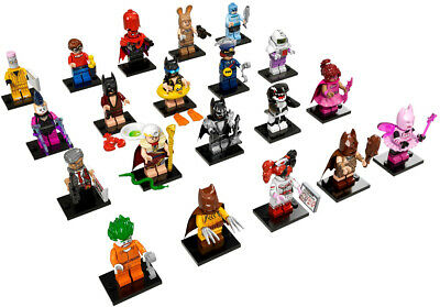 LEGO ~ BATMAN MOVIE ~SERIES 1 And  2  MINIFIGURES ... CHOOSE YOUR FIGURE • 3.99£