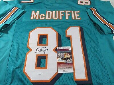 $ CDN125.31 • Buy OJ McDuffie Miami Dolphins Signed Autographed Jersey JSA