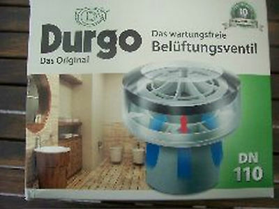 £155.81 • Buy Lot Of 7 New  Durgo Ventilation Valve DN 110 Units Mounting From 6 To 12 Baths