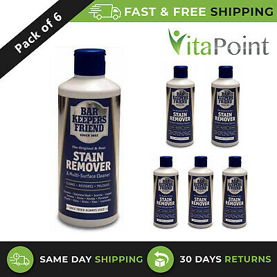 £12.40 • Buy 6 Pack - Bar Keepers Friend Stain Remover Powder 250g