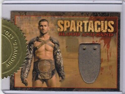 £149.99 • Buy Spartacus Blood & Sand Andy Whitfield As Spartacus CC1 Incentive Relic Card