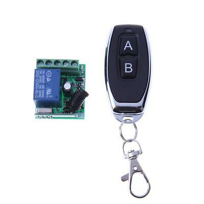 £6.04 • Buy 12V/24V 1CH Channel Relay RF Wireless Remote Control Switch Transmitter Receiver