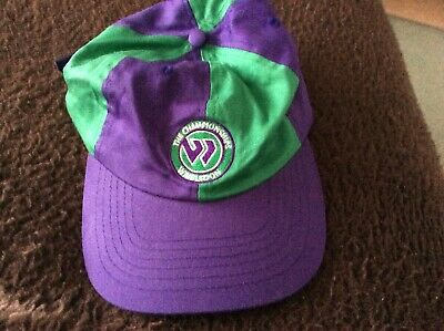 Rare Vintage Genuine Wimbledon Tennis Cap New With Label Kent And Curwen • 7£