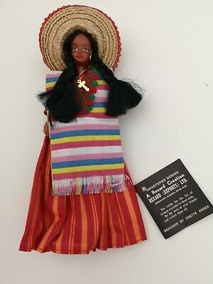 £10 • Buy Rexard Miss Mexico Vintage Costume Doll - See Details