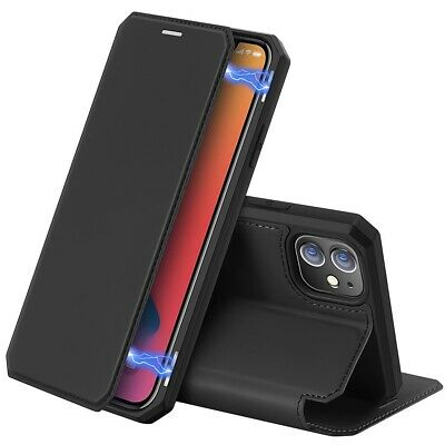 For IPhone 12+Mini+Pro Max Case Flip Cover Shockproof Faux Leather Magnet Holder • 11.97£