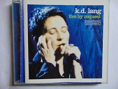 AU7.50 • Buy K.D. Lang - Live By Request - CD - FREE POST