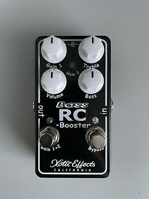 Xotic Bass RC Booster V2 Clean Boost Guitar Bass Effects Pedal • 125£