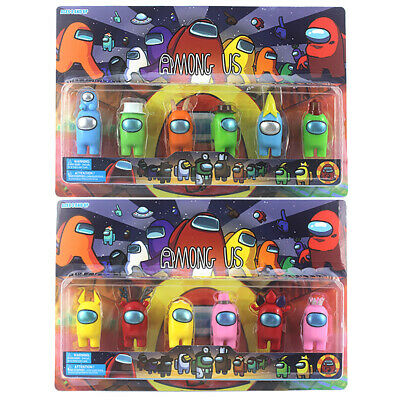 Among Us Imposter Game Action Figures Collection Plastic Dolls Toys Kids Gifts • 14.69£