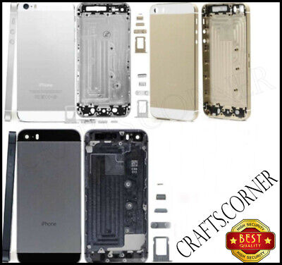 £3.48 • Buy Iphone 5 Replacement Back Rear Housing Battery Chassis Metal Case Cover | Uk