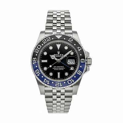 $ CDN22553.14 • Buy Rolex GMT-Master II Batman Auto Steel Mens Jubilee Bracelet Watch 126710BLNR