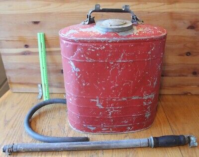 £97.10 • Buy 1939 DB Smith Indian Fire Pump Tank Backpack NYS Conservation Dept Extinguisher