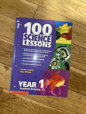 100 Science Lessons For Year 1 By Gay Wilson, Carole Creary (Paperback, 2001) • 5.99£