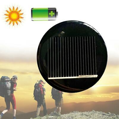 AU2.71 • Buy 36mm Dia 5Pcs 2V Poly Smart Round Solar Module Panel Fo Charger DIY Toys A2Y5