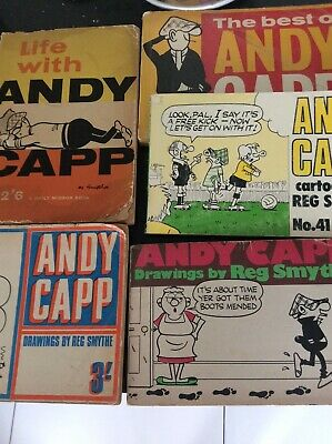Andy Capp  Books  cartoons Drawings By Reg Smythe  • 11£