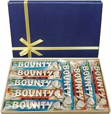 Bounty Chocolate Selection Box Coconut Milk And Dark Chocolates Selection • 11.99£