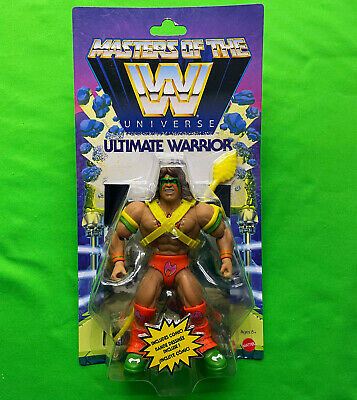 $60 • Buy Masters Of The WWE Universe ULTIMATE WARRIOR Heroic Champion Of WWEternia