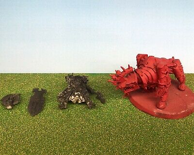 AU49 • Buy Games Workshop Citadel Warhammer 40k AoS Lord Of Khorne On Juggernaut Metal OOP