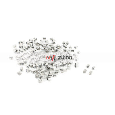 $ CDN6.05 • Buy 100 Pcs 250V 4Amp Fast Blow Type Glass Tube Fuses 5 X20mm Silver Tone Clear✦Kd