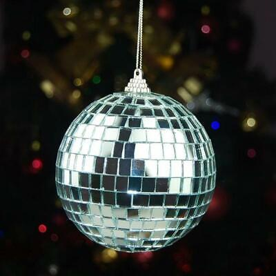 £5.19 • Buy Set Of 6Pcs Mirror Glass Ball Disco Lighting Kit For Home Stage Club Dance Party
