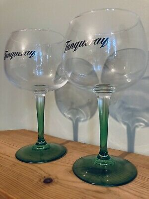 Pair Of Tanqueray Balloon Large Steamed Copa Glass Gin Bowl Goblet In Box New • 15£