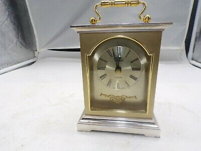 VINTAGE MINSTER With Kienzle QUARTZ MOVEMENT CARRIAGE CLOCK  In Great Condition  • 13.95£