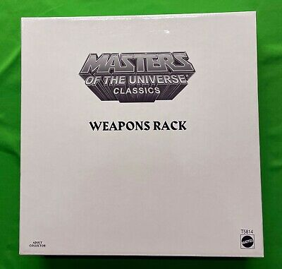 $65 • Buy Masters Of The Universe Classics WEAPONS RACK For Castle Grayskull