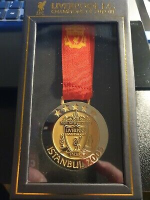 Liverpool FC Istanbul 05 Replica Medal LFC YNWA  Official Merchandise • 13.99£