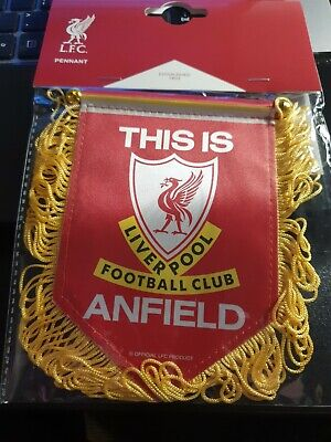 Liverpool FC Mini Pennant  Official Merchandise • 7.99£