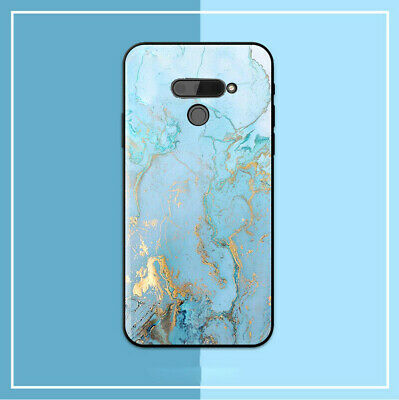 AU15 • Buy ESG Design LG V30 LG  K50 Q60 Case Cover Blue Marble Back