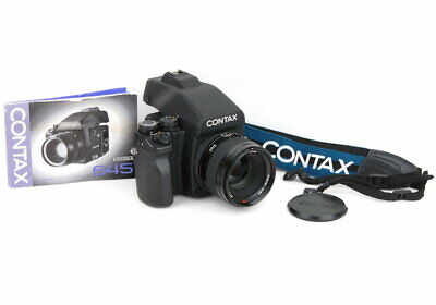$ CDN11753.31 • Buy Contax 645 Carl Zeiss Planar T Af 80Mm F2 120 Back Medium Format Film Camera