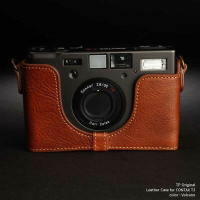 $ CDN200.42 • Buy Mint Tp Original Leather Camera Body Case For Contax T3 Volcano