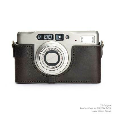 $ CDN201.93 • Buy Mint Tp Original Contax Tvs Ii Designated Leather Camera Case Coco Brown Here