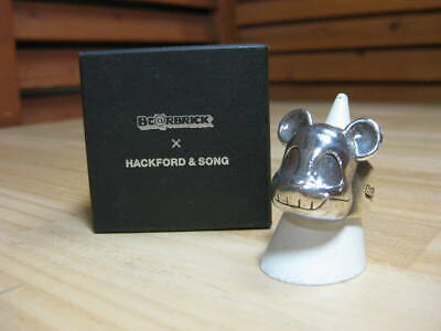 $427.51 • Buy C△104 Be Rbrick Hackford Song Bearbrick And Silver Ring Size No. 22