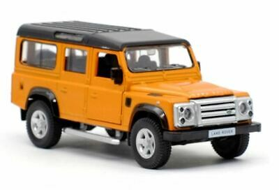 Land Rover Defender - Orange - Diecast Model Toy Car • 12.99£