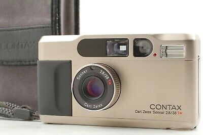 $ CDN1134.55 • Buy 【Exc+5 W/ Strap Case】  Contax T2 Point & Shoot Carl Zeiss 38mm F2.8 T* Japan 802