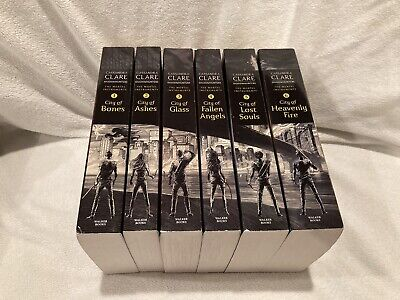 Cassandra Clare Book Lot Mortal Instruments Complete Series 1-6 Paperback City • 21.71£